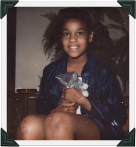 Dr. Sheila Carpenter as a child